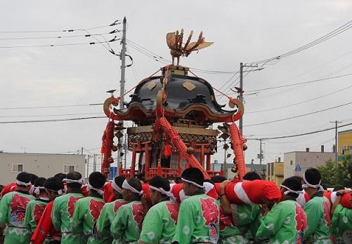 名寄神社例大祭