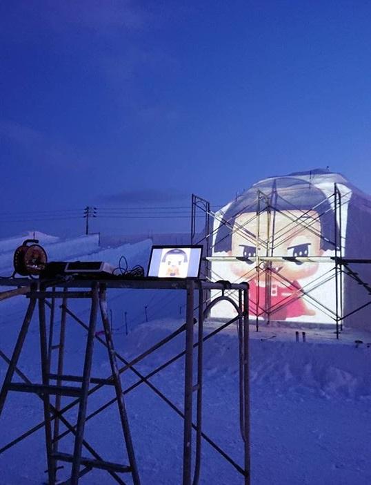 【お知らせ】 雪フェス大雪像